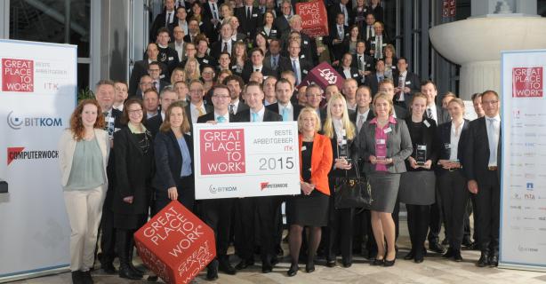 Great Place to Work: Die besten ITK-Arbeitgeber 2016 gesucht - Foto: Great Place to Work