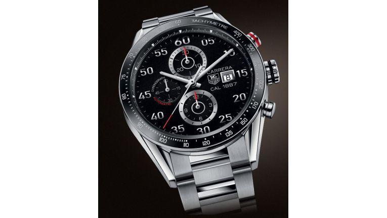 TAG Heuer Carrera: Die erste Smartwatch des Herstellers soll dem hier abgebildeten klassischen Modell äußerlich sehr ähnlich werden.