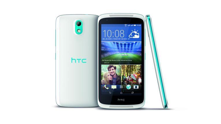 Das HTC Desire 526G ist ein typisches Einsteiger-Smartphone, das schon für 159 Euro zu haben ist.