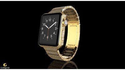 Gold, Platin und Edelsteine: Apple Watch Spectrum Collection - Foto: Goldgenie