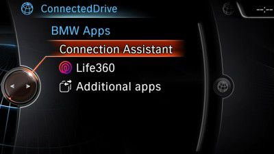 BMW Connected Drive: Support für Smartphone-App Life360 - Foto: BMW AG