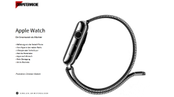 Nutzen, Modelle, Apps, Business: Die Apple Watch - eine multimediale Tour