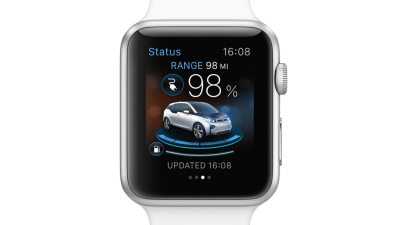 Apple Watch & BMW Connected Drive: App vernetzt Smartwatch und Auto - Foto: BMW AG