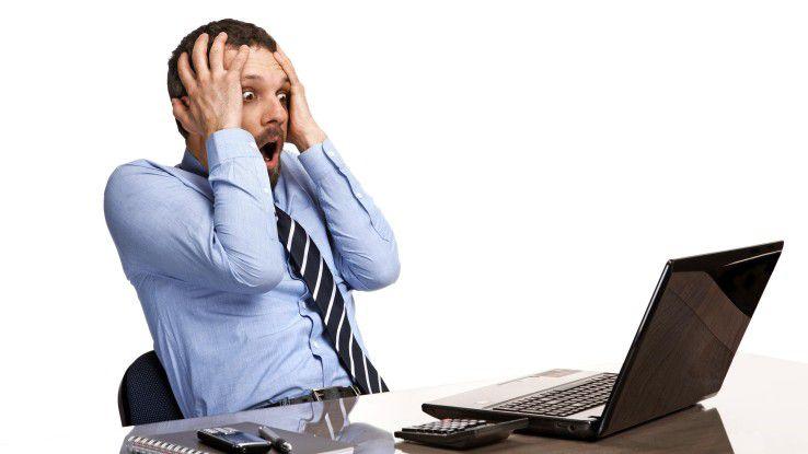 Ein falscher Klick und der Sachbearbeiter greift seine eigene Firma an - Cyber-Kriminelle nutzen gezielt menschliche Schwächen aus.