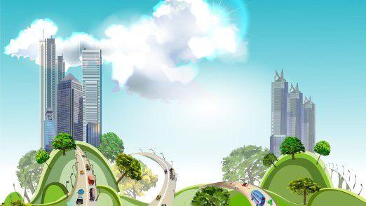 Visionen des technisch perfektionierten Stadtlebens in der Smart City könnten bald Wirklichkeit werden.