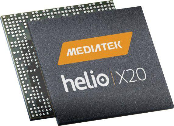 Der Mediatek Helio X20 mit Tri-Cluster-Decacore-Architekture