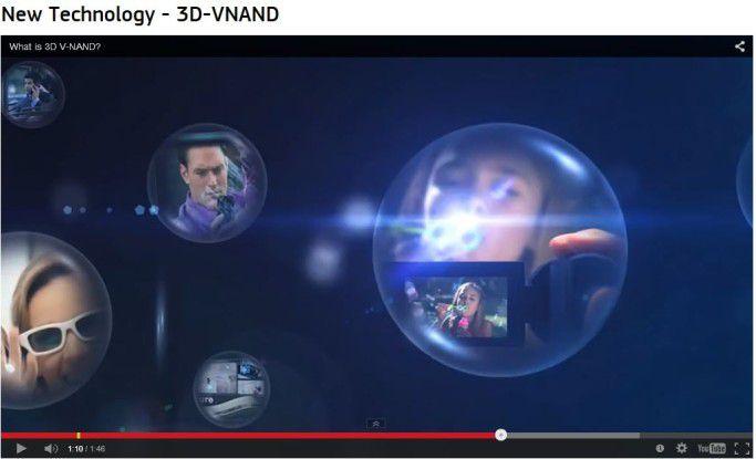 3D V-NAND Technologie