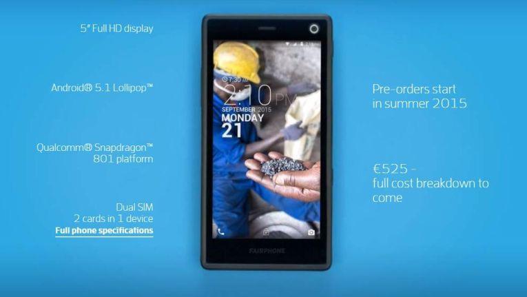 Der Name ist Programm: Das Fairphone 2 ist ein fai produziertes Smartphone.