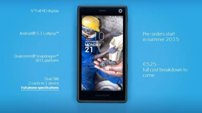 Die Spezifikationen des Fairphone 2