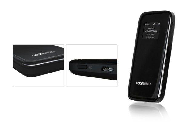 Der Uros Goodspeed MF900 unterstützt LTE und bis zu 15 WLAN-fähige Geräte
