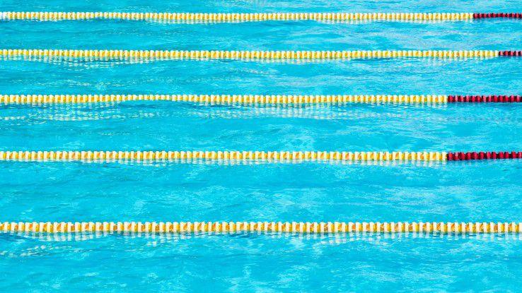 """Denken in """"Swim lanes"""": BPM orientiert sich an den Paradigmen der Fertigungsindustrie."""