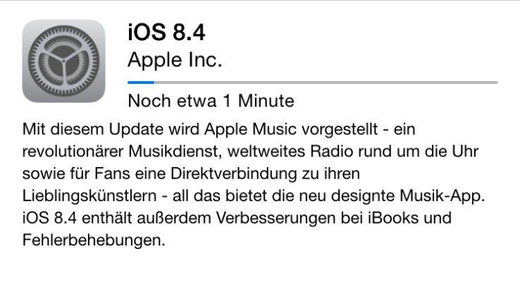 iOS 8.4 bringt neben Apple Music auch VoLTE - für Vodafone-Nutzer mit iPhone 6 (Plus)