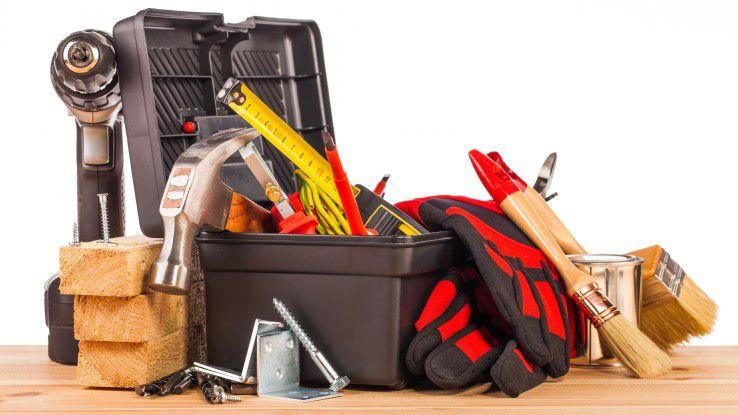 Mit Werkzeugen alleine ist es nicht getan. Man muss sie auch bedienen können.