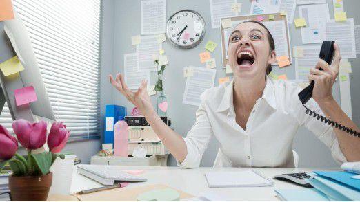 Glaubt man einer aktuellen US-Untersuchung, dann sind Frauen im Büro die schlechteren Schauspielerinnen.