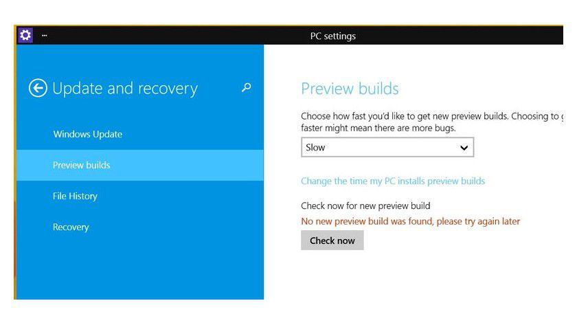 """Neue Builds von Windows 10 erhalten Sie nach Auswahl von """"Fast"""" künftig schneller"""
