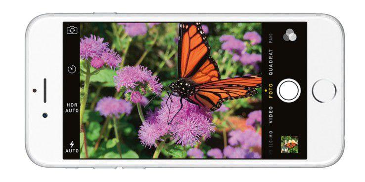 Dank elektronischem und optischem Bildstabilisator sowie verbesserter Software soll das iPhone 6 schönere Bilder machen.