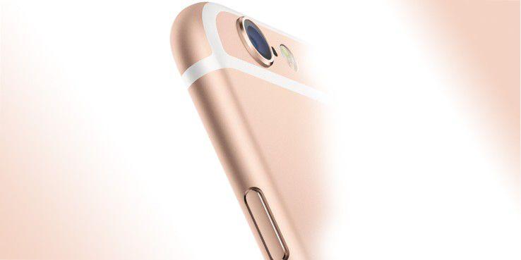 Die Kameras des iPhone 6 arbeitet mit 8 Megapixen, das Objektiv mit f2.2.