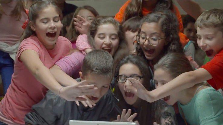 Die Vorschau-Version von Skype Translator hat Schüler aus Mexiko und den USA begeistert.