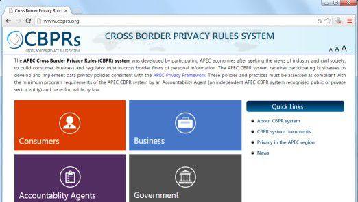 """In der Asiatisch-Pazifische Wirtschaftsgemeinschaft """"APEC"""" geben """"Cross-Border Privacy Rules"""" (CBPRs) den Ton an."""