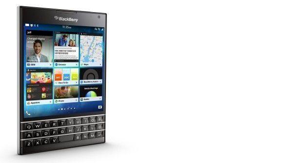 Laut Blackberry soll es noch länger Updates für Passport & Co. geben