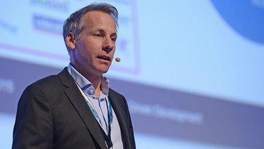 Springer CIO Daniel Keller sprach auf den Hamburger IT-Strategietagen.