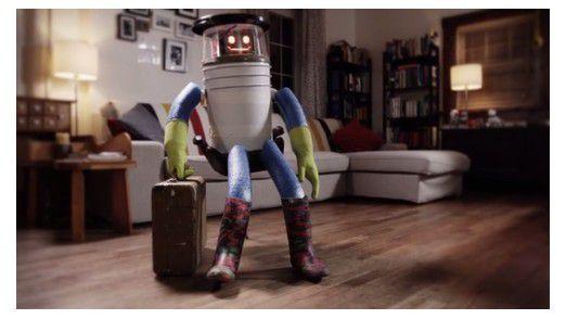 hitchBOT hat den Koffer gepackt.