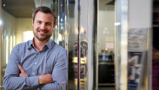 """Marc Stoffel, CEO der Haufe-Umantis AG: """"Bei uns wird über alle relevanten Geschäftsentscheidungen abgestimmt."""""""