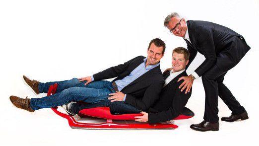 Andreas Linger, Wolfgang Linger und Christian Reitterer haben gemeinsam ein Managementseminar entwickelt.