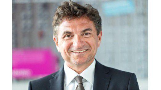 Dr. Ferri Abolhassan, Geschäftsführer der T-Systems International GmbH und verantwortlich für die IT-Division des Unternehmens