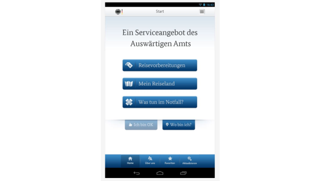 Apps für die Geschäftsreise - Foto: Auswärtiges Amt