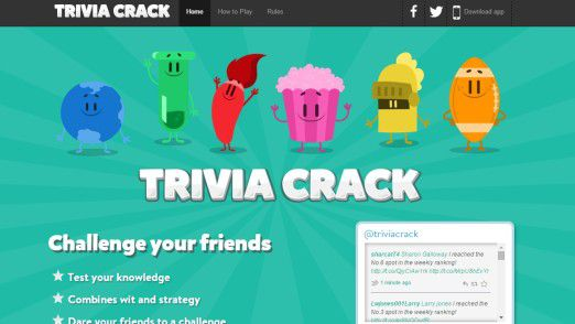 "Die Qstream-App ist stark an ""Trivia Crack"" angelehnt."