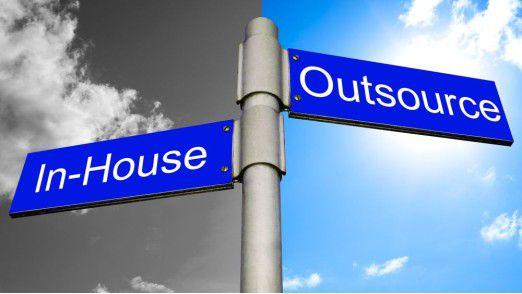 """Ist die Entscheidung für """"Outsourcing"""" einmal gefallen, heißt es für das Management, die Bereiche zu definieren, die einer neuen Organisation unterstellt werden sollen."""