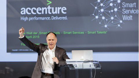 Innovationsforum von Accenture im April 2015 - Foto: Thorsten Jochim