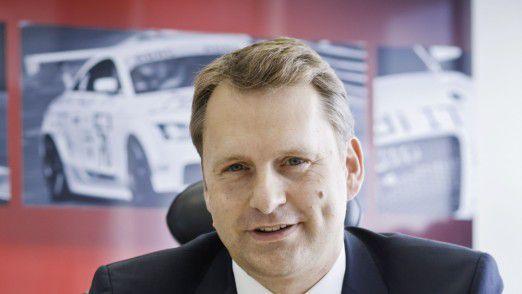 Im Team von Audi CIO Mattias Ulbrich arbeiten über 1000 Mitarbeiter.