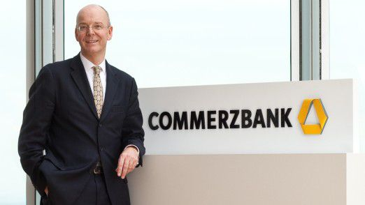 Commerzbank CEO Martin Blessing
