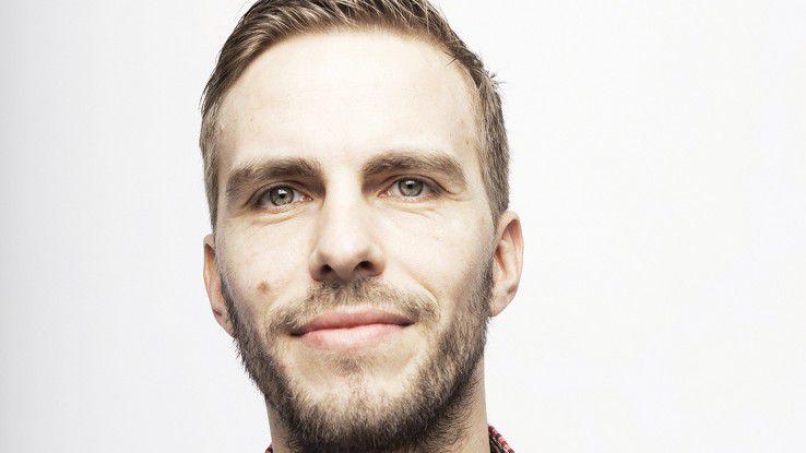 """Robin Sudermann, Talents Connect: ¬""""Unsere Software schlägt den Bewerbern die richtigen Stellen vor."""""""