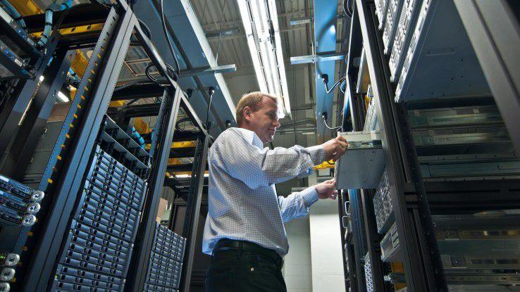 Software für das Rechenzentrum.