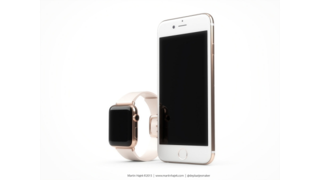 Konzept: iPhone 6s in Roségold - Foto: Martin Hajek