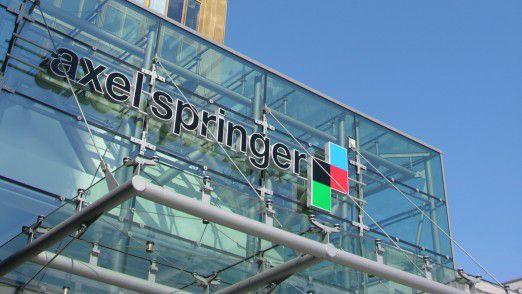 Axel Springer gibt sich eine neue Struktur.