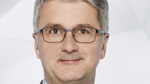 Gleich vier Audi-Vorstände müssen gehen. CEO Rupert Stadler dagegen hält sich.