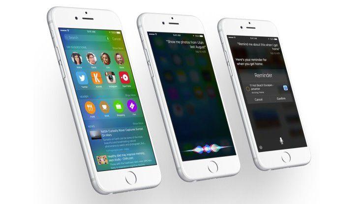 iOS 9 behebt auch einige Probleme der Vorgängerversion.