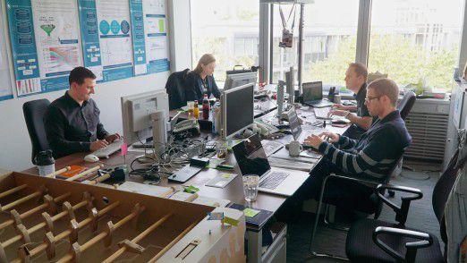 In München sollen die Spezialisten IT-Lösungen für Big Data und Internet of Things entwickeln.
