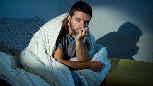 Führungskräfte leiden besonders häufig unter Schlafstörungen.