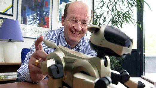 Wolfgang Wahlster, Vorsitzender der Geschäftsführung und Wissenschaftlicher Direktor am Deutschen Forschungszentrum für Künstliche Intelligenz GmbH in Saarbrücken.