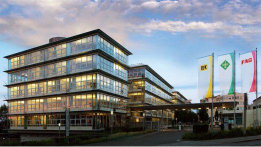 Schaeffler-Zentrale: Das Unternehmen reagiert auf das rückläufige Industriegeschäft.