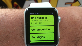 Die Apple Watch im Juli: Die Apple Watch als Fitnesshelfer