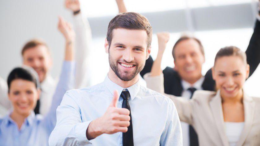 Die positive Arbeitsatmosphäre in einem guten Team ist nur einer der Gründe, warum die mobileX AG auf der Bewertungsplattform kununu im Durchschnitt besser abschneidet als andere IT-Firmen.