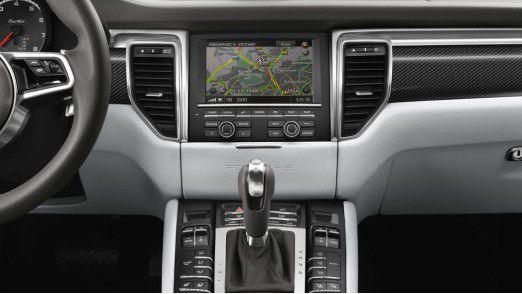Das Porsche Communication Management mit Echtzeit-Verkehrsinformationen.