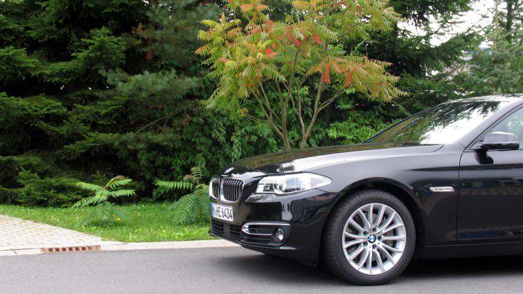 BMW 5er Touring: Groß und deutsch muss der Dienstwagen sein.