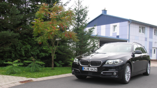 BMW 5er Dienstwagen-Test: BMW 535i Touring im Fahrbericht - Foto: Rene Schmöl